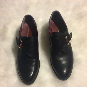 Black Tommy Hilfiger Menswear style shoes size 7